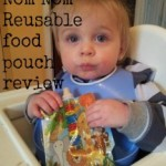 Nom Nom reuseable food pouch review