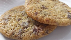 egg free, dairy free chocolate chip cookies