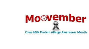 raising awareness of cmpa in moovember