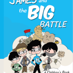 Allergy book review & interview: James and the Big Battle