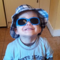 J is ready for his holiday!