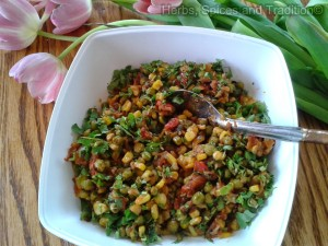 corn and peas subji 2