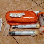 What's in my changing bag? J's medpac and emergency allergy medication