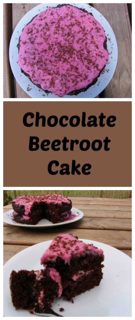 Chocolate beetroot cake is a fun and healthy option. The natural beetroot colour makes an amazing pink icing and the beetrot keeps the sponge nice and moist