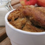 Apple & cinnamon muffin pots (dairy free, egg free)