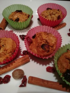 winter spiced muffin #vegan #dairyfree