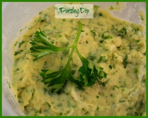 Parsley-Dip.