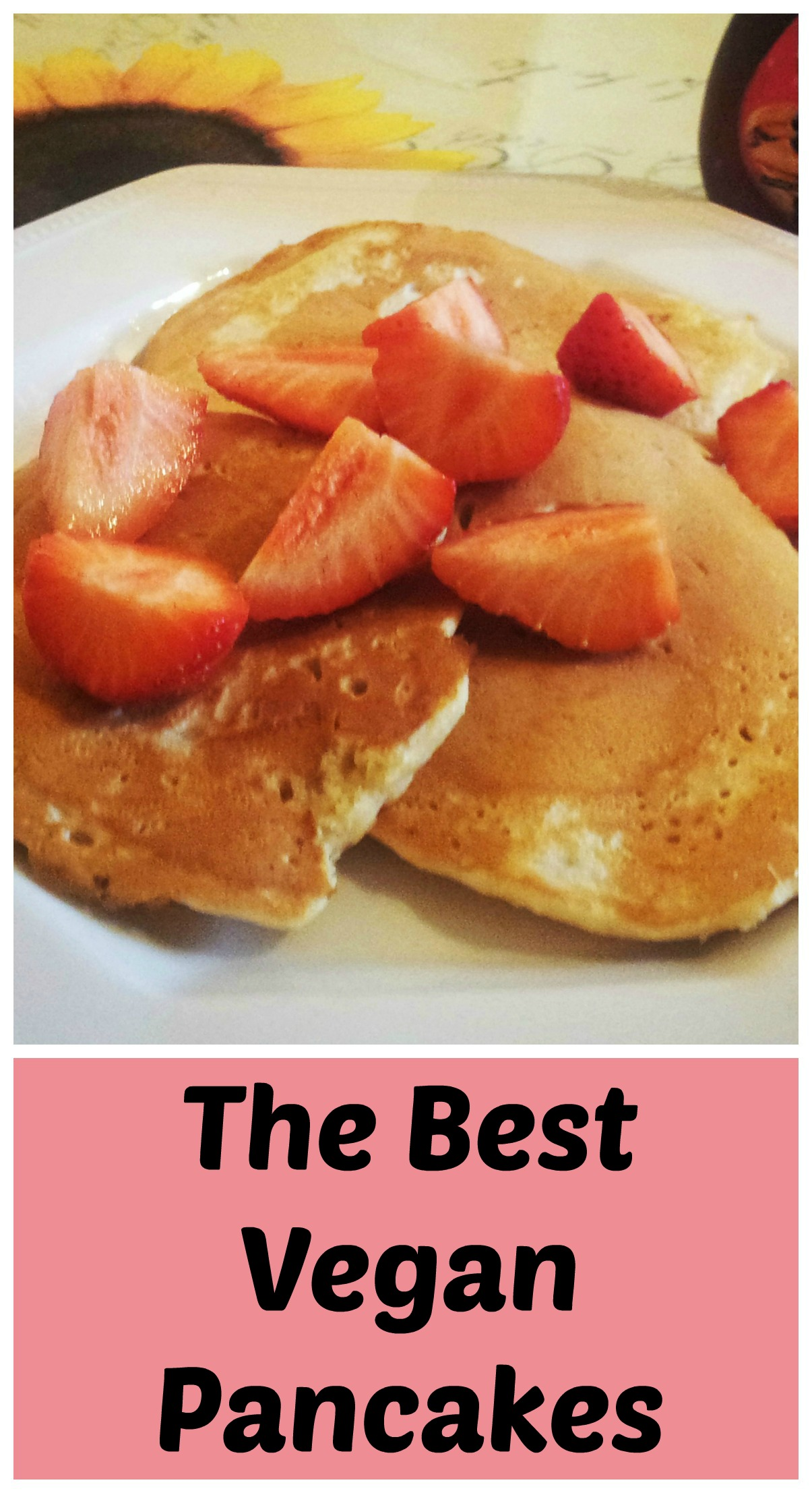 Vegan pancakes the best recipe free from farmhouse these vegan pancakes are easy fluffy and perfect for breakfast dairy free and egg ccuart Gallery