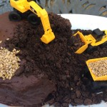 How to make a chocolate construction cake (with diggers!)