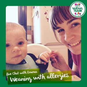 hipp organic live hat weaning with allergies