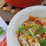 5 minute chicken noodle soup