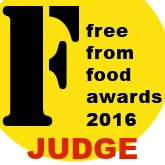 free from food awards judge