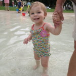 Baby A's birthday picnic at the splash park with Hipp Organic #weanteam