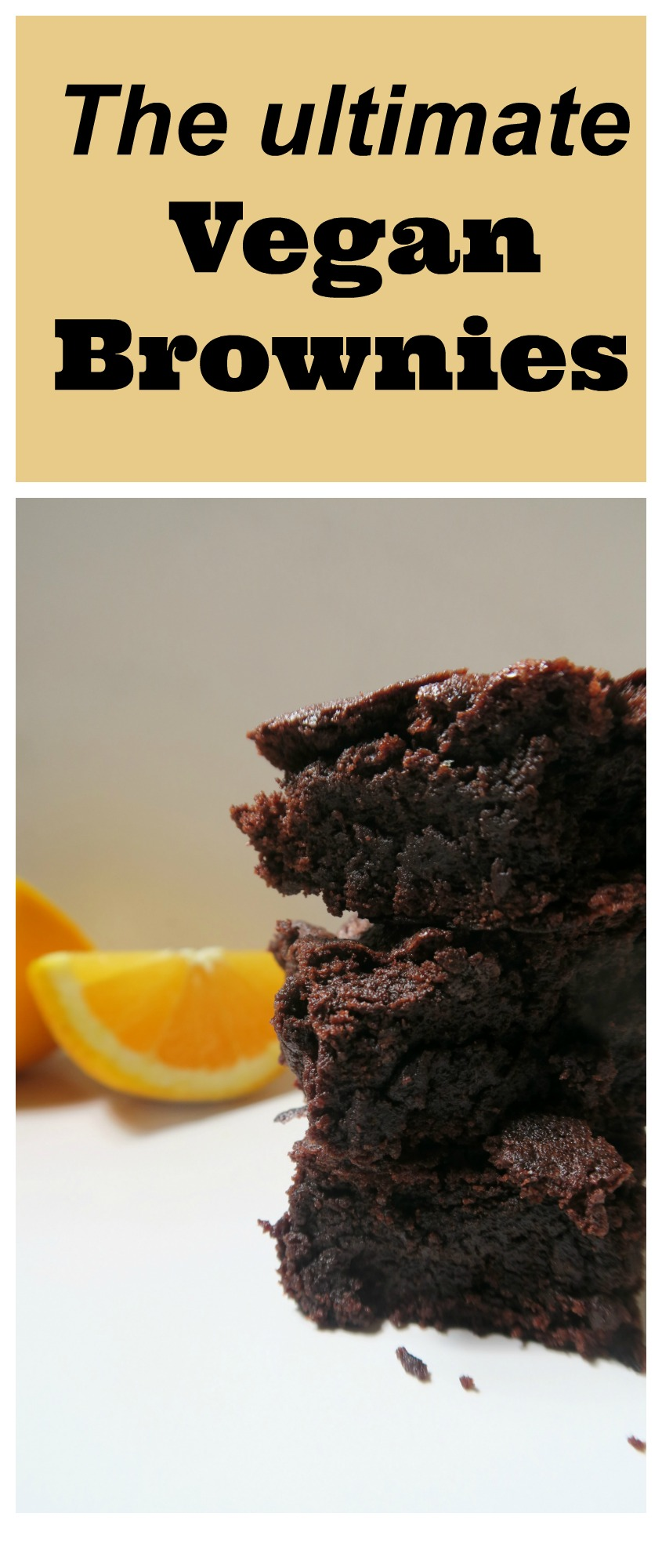 These are the ultimate vegan brownies. They may be dairy free and egg free brownies but they are full of taste. www.freefromfarmhouse.co.uk