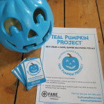 Find out more about the teal pumpkin project at FARE - food allergy research and ecuation