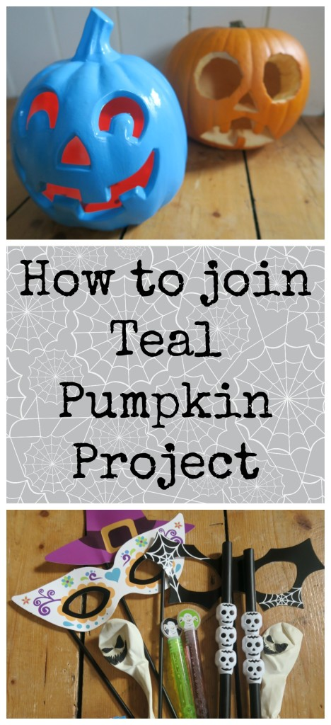 Join in with the food allergy friendly Teal Pumpkin Project this Halloween