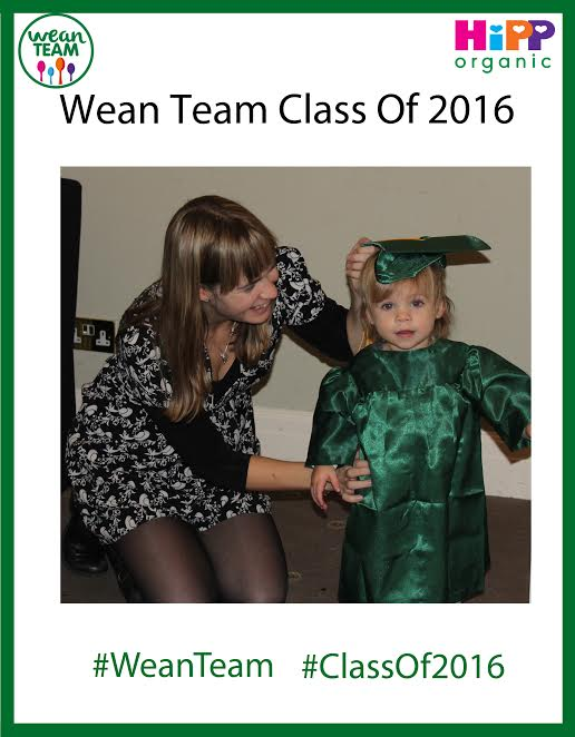 hipp organic wean team graduation