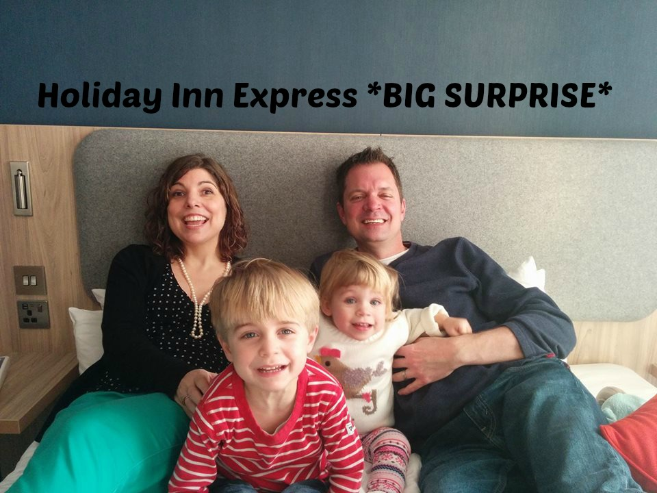 Holiday Inn Express surprised Mr C by flying his sister over from America as part of their #weknowwhatmatter Christmas campaign
