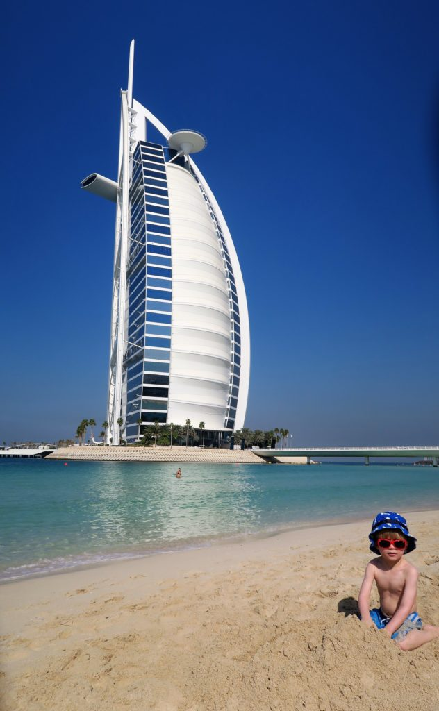 you can get close to burj al arab in dubai on a budget at jumeirah beach