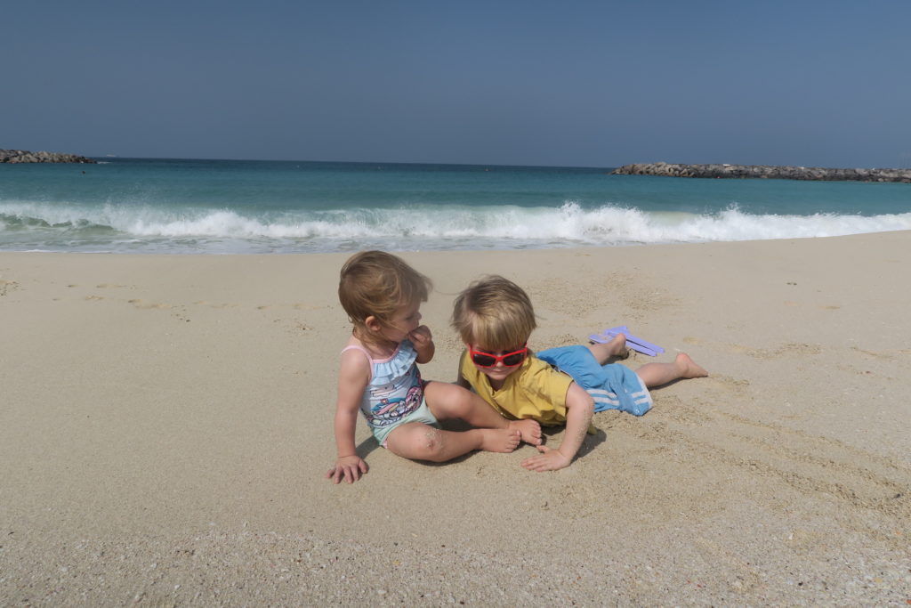 al mamzar beach park is perfect for families on a budget in dubai