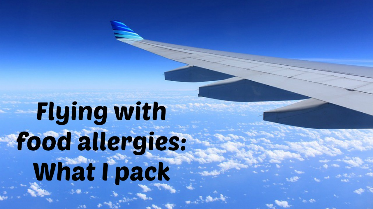 flying with food allergies, flying with nut allergy