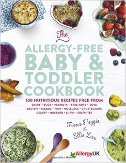 Allergy free baby and toddler cookbook review