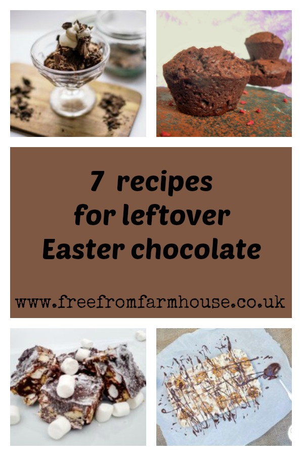 Chocolate recipes to use up leftover Easter chocolate