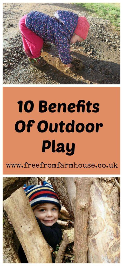 Outdoor play has so many benefits for children including building their physical development, social skills and resilience