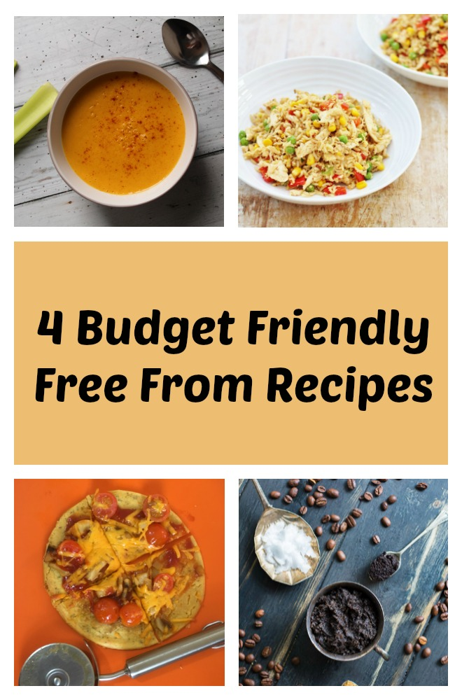 These budget free from recipes prove dietary restrictions don't have to be expensive. #vegan #glutenfree #dairyfree