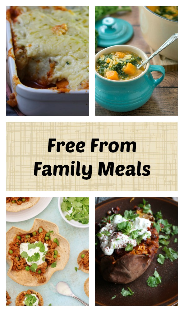 These free from family meals are great no matter what your dietary restrictions.. #dairyfree #vegan #glutenfree