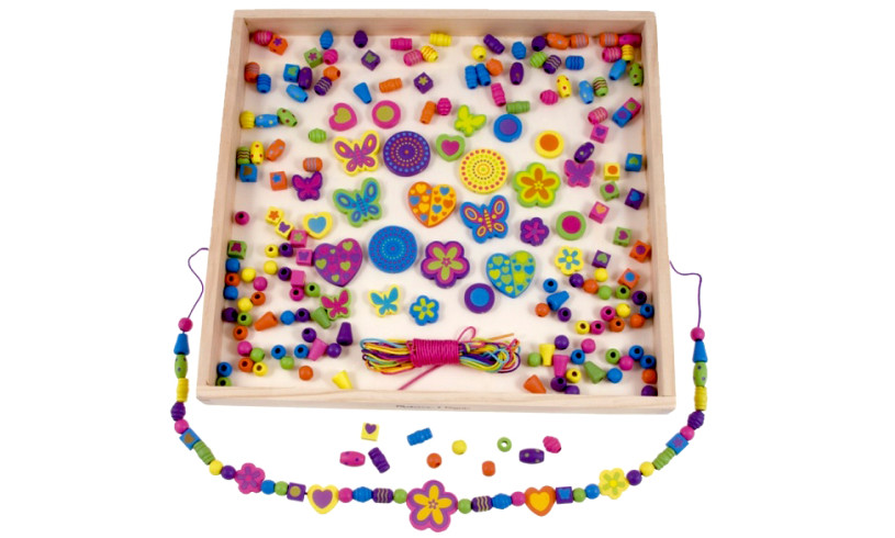 Wicked Uncle review - Melissa and Doug beads