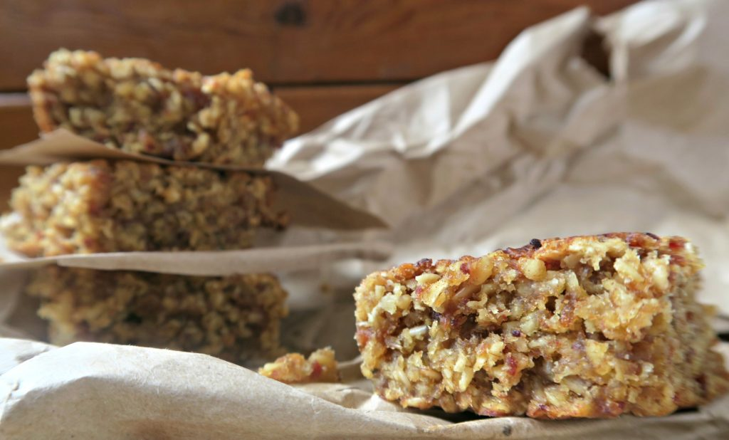 dairy free date flapjack