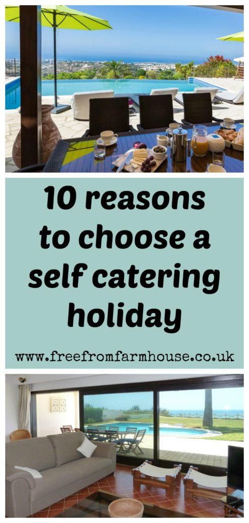 A self catering holiday can be a great choice for all the family, saving you money and giving you more flexibilaty