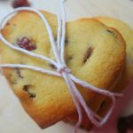 Valentines Vegan Biscuits With Cranberries