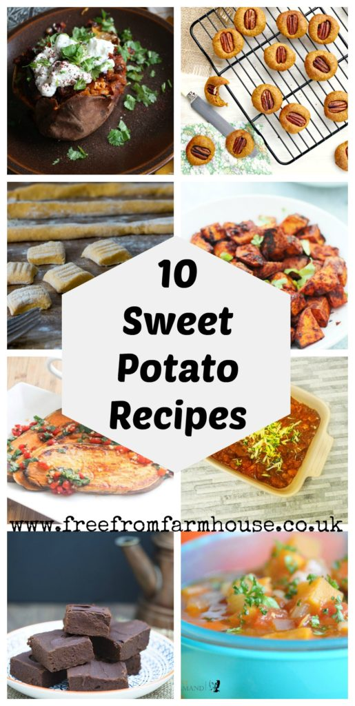 Sweet potato recipe from soups and stews to cookies and brownies #vegan #glutenfree #dairyfree