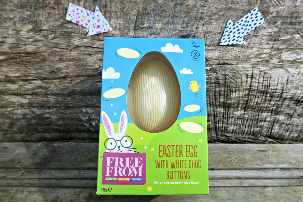 dairy free white chocolate easter egg