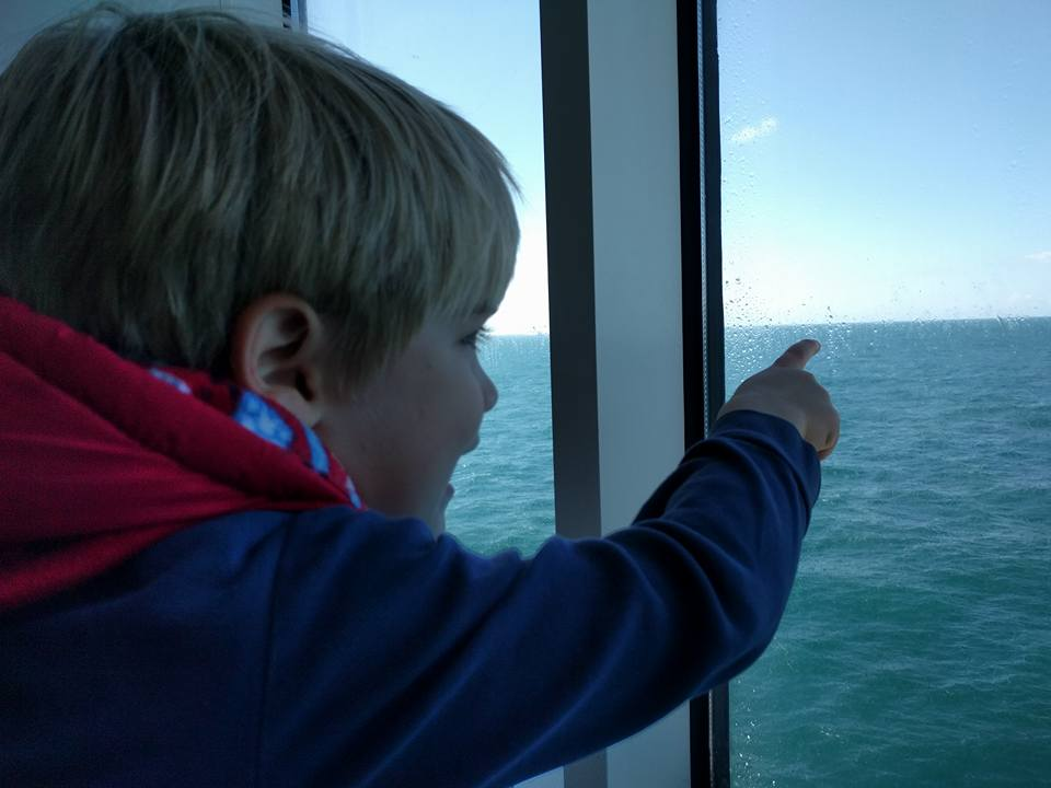 Paris with kids: getting there by ferry