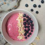 dairy free coocnut smoothie bowl